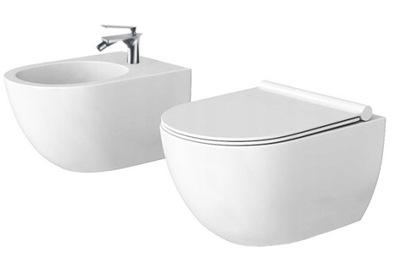 Верона Поддон туалет без оправы крепления БИДЕ доска duroplast