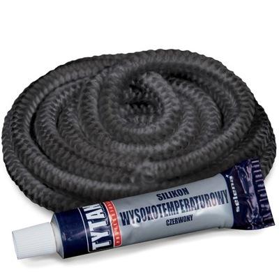 Súprava 7,5 mm pre krby silikónový kábel