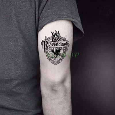 Tatuaż Harry Potter Ravenclaw Hermiona Hogwart Pl