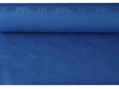 Скатерть бумажную ролик 1 ,2 х 6м темно-синий