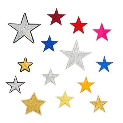 звезды нашивки термо Перебивки комплект 14 штук