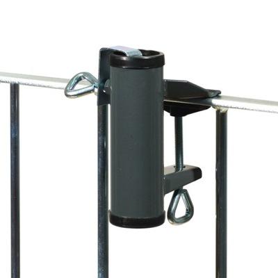 Držiak pre dáždnik na balkónové zábradlie antracit 23
