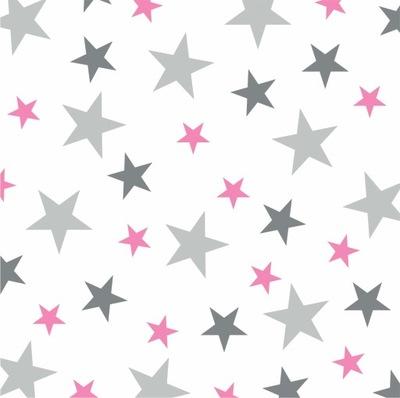 Samolepky na stenu STARS stars, sada 3 farieb