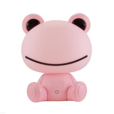 Svietidlá do detskej komora SANICO nočné svetlo dieťa žaba ružová LED