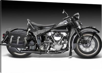 OBRAZ NA PŁÓTNIE MOTOR MOTOCYKL 100x70 800 WZORÓW