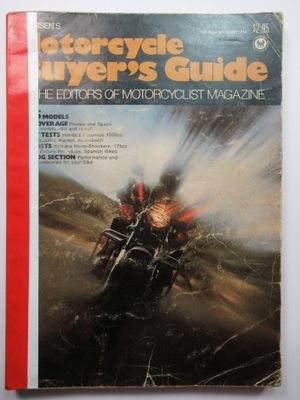 Petersens Motorcycle Buyers Guide 1975, MZ, Ossa