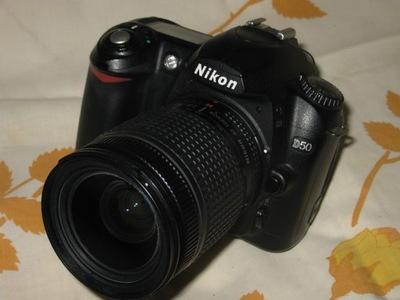NIKON D50 + NIKKOR zoom 28-80 KOMPLET BDB STAN
