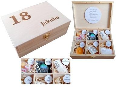 коробка ОСНОВЫ подарок НА 18 30 40 50 день рождения