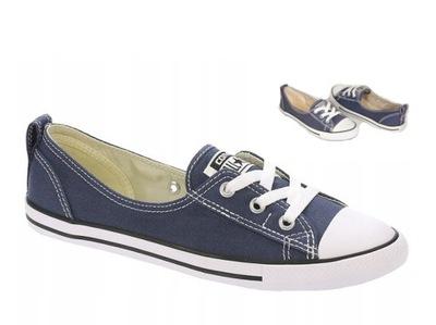 Balerinki w Sportowe buty damskie Converse Allegro.pl