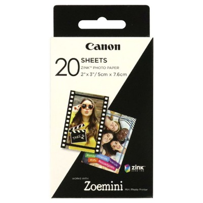 Papier foto Canon Zink Photo 2x3' 20 ark. 3214C002