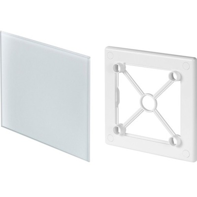 клетка вентиляционная TRAX стекло fi100 белая Awenta