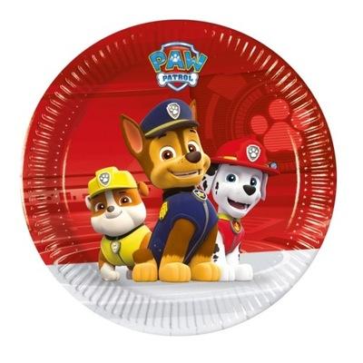 Тарелки Бумажные Собачий Патруль -19 ,5 см-8 штук