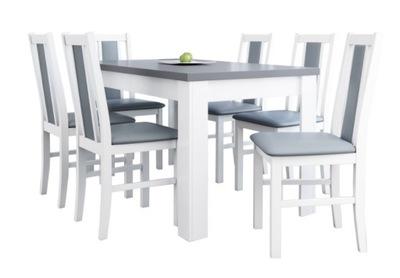 комплект белое стулья + ?????????? стол