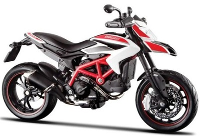 DUCATI Hypermotard SP мотоцикл модель 1 :12 Maisto
