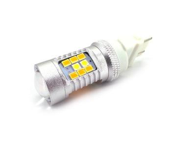 LED 3157 12V-24V 3057 P27/7W 2000lm biały-pomarańc
