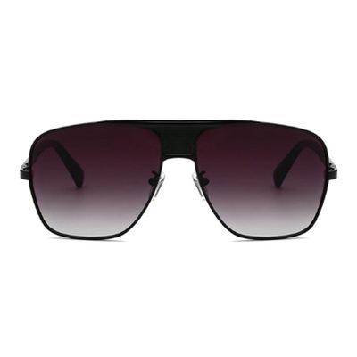 okulary Męskie Pilotki Aviator Cieniowane Złote 7401287000