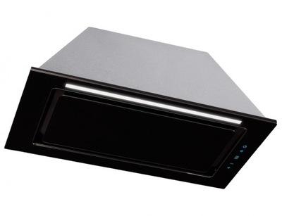вытяжка в шкафчик Toflesz ЛИНЕА стеклянный Черный 60