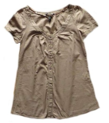 4038d50315fc7b ... karmienia top paski 38 M. H&M MAMA ciążowa bluzeczka TOP bluzka __ r.