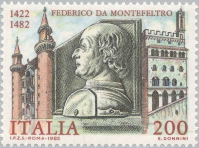 Италия 1982 Марку Мне 1809 ** kondotier Montefelt