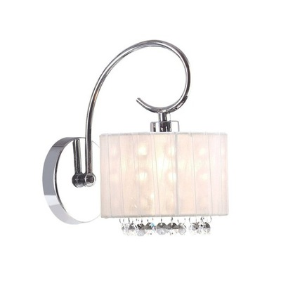 Lampy sconce crystal SPAN MBM1583/1 WH Italux