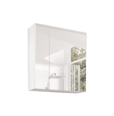 Тумба для ванны с зеркалом ORTON *белая *