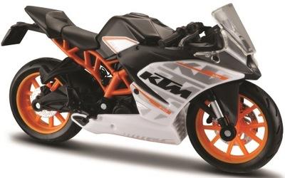 KTM RC390 мотоцикл модель 1 :18 Maisto