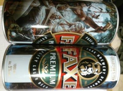Коллекционные банки пива FAXI
