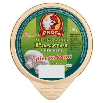 Паштет Profi с грибами 131G.
