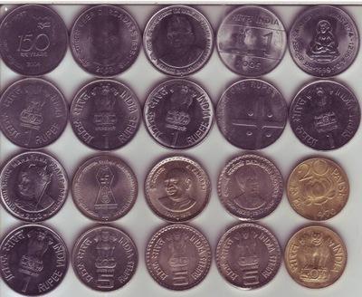 Индия 10 штук монеты instagram  /001AV/