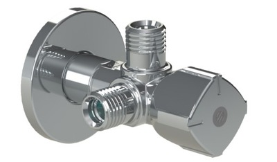 Клапан Двойной 1 /2x3 /8x3/8 ARCO TWIN combi