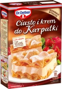 Торт и Крем ??? Karpatki 380г Dr. Oetker