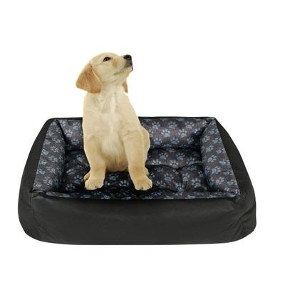 логово собака диван 120x90 ЛАПЫ лен !