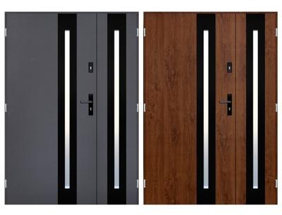 двери Внешние ДВУСТВОРЧАТЫЕ 120, 130, 140 см