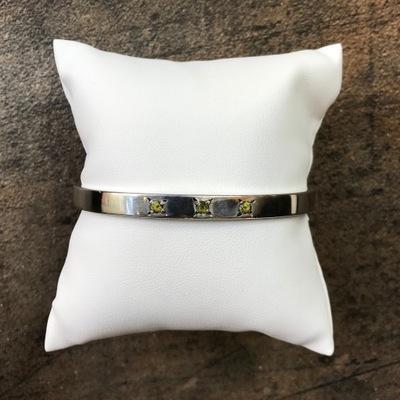 Серебряная браслет Imago artis с spinelami natur