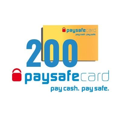 PaySafeCard 200 zł PSC