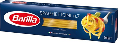 BARILLA Spaghettoni n 7 итальянский макароны - 500 гр