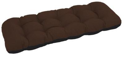 подушка на скамейку садовую качели 150х50 бронза