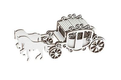 Tekturka - Карета с лошадьми 3D - Wedding Day