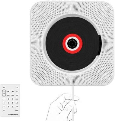 Odtwarzacz Przenośny CD Głośnik Bluetooth Radio