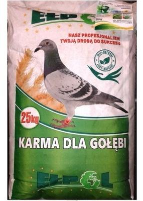 корм для голубей экономическая плюс E + Elpol 25кг