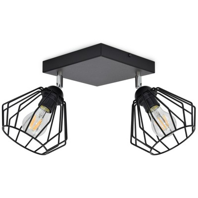 ЛАМПА подвесной светильник ПОТОЛОЧНАЯ ЛЮСТРА Бриллиант LED EDISON