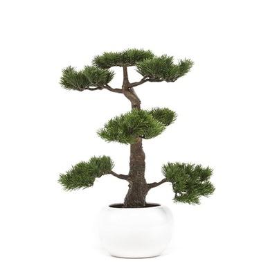skvelé umelé BONSAI strom Cédrového dreva borovice 48 cm