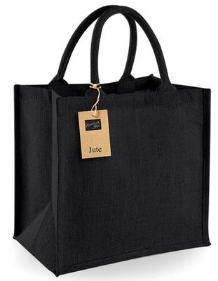 ??? сумка jutowa подарок - 30x30x19 см - черная
