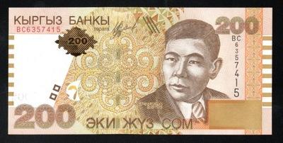 Кыргызстан 200 СОМ P-22 UNC 2004
