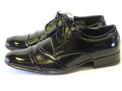 e157e57df1 buty czarne okazja chłopiec męskie rozmiar 39 - 6805622221 ...