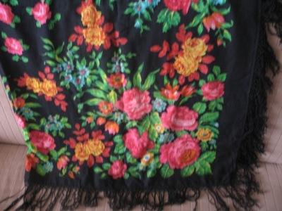 российская платок винтаж чистая шерсть готова к отправке 145x145