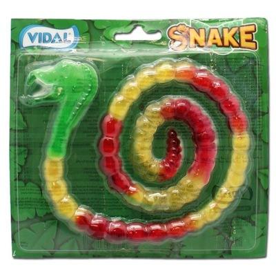 Snake Jelly! Большой, Длинный, Вкусный Żelkowy Шланг  1м