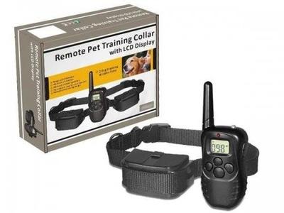 электрическая воротник тренировочная для собак пульт 300м
