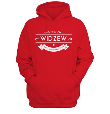 Widzew Łódź, bluza, hoodie, super jakość! XL