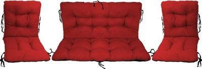 Подушки на мебель Ротанг РОТАНГА комплект 2 +1CZERW